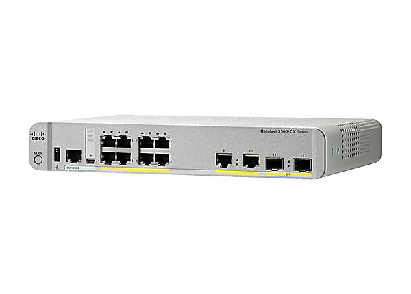Коммутатор Cisco WS-C3560CX-8PC-S