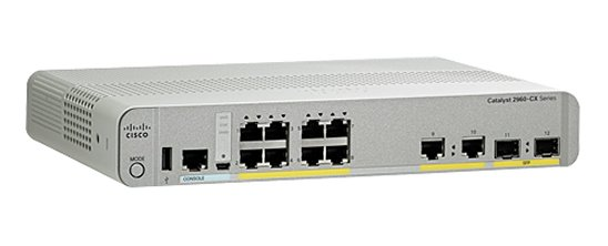 Коммутатор Cisco WS-C2960CX-8TC-L