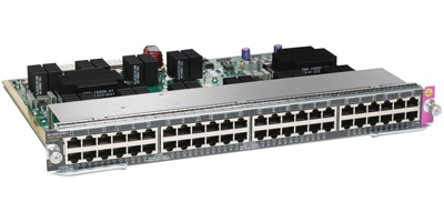 Модуль Cisco WS-X4748-UPOE+E=