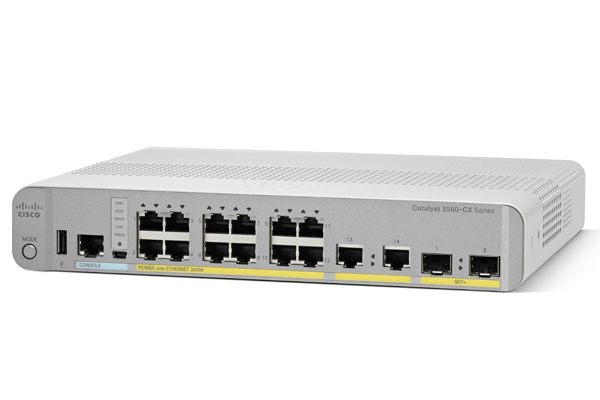 Коммутатор Cisco WS-C3560CX-8PT-S