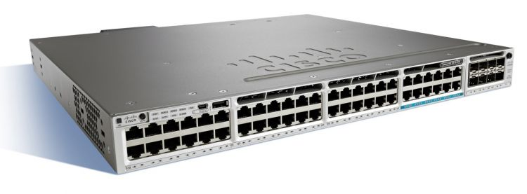 Коммутатор Cisco WS-C3850-12X48U-E