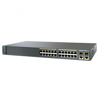 Коммутатор Cisco WS-C2960-24TC-L