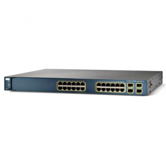 Коммутатор Cisco WS-C3560G-24PS-E