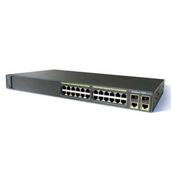 Коммутатор Cisco WS-C2960-24PC-L