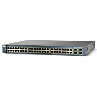 Коммутатор Cisco WS-C3560G-48PS-S
