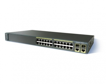Коммутатор Cisco WS-C2960+24LC-S