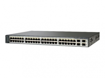 Коммутатор Cisco WS-C3750V2-48PS-S